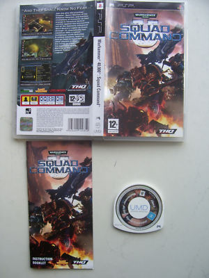 Warhammer 40.000 Squad Command PSP Game