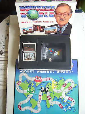 Whickers World  By Paul Lamond Games 1989 New