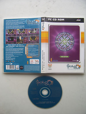 Who Wants to be a Millionaire 2nd Edition  PC